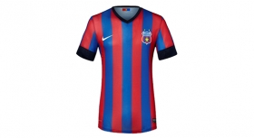 "Original T-Shirt Red and Blue Official Product ""licensed"" Steaua Bucuresti"