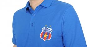 Tricou Polo Produs Oficial  Steaua Bucuresti Royal