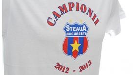 Tricou Steaua Campionii 2013