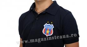 Tricou Polo Navy Junior  Produs Oficial Steaua Bucuresti