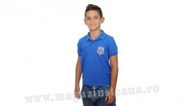 Tricou Polo Royal Junior  Produs Oficial Steaua Bucuresti
