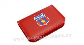 Penar 1 Compartiment Rosu Produs Oficial Sub Licenta Steaua Bucuresti