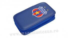 Penar 2 Compartimente Albastru  Produs Oficial Steaua Bucuresti