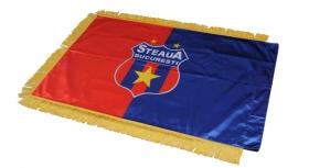 Steag Matase Mic Produs Oficial Steaua Bucuresti