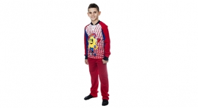 Pijama Rosie Junior 001 Produs Oficial Steaua Bucuresti