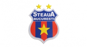 Sticker Mediu Produs Oficial ''sub licenta'' Steaua Bucuresti