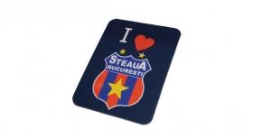 Magnet I Love Produs Oficial  Steaua Bucuresti