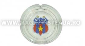 Scrumiera Rotunda Produs Oficial ''sub licenta'' Steaua Bucuresti