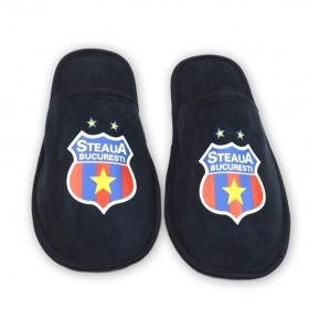 Papuci de Casa Navy Produs Oficial ''sub licenta'' Steaua Bucuresti