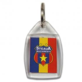 Breloc Plastic Personalizat STEAUA BUCURESTI