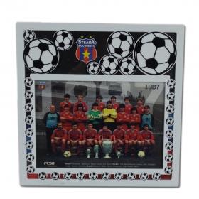 Rama Foto 1987 Produs Oficial Steaua Bucuresti