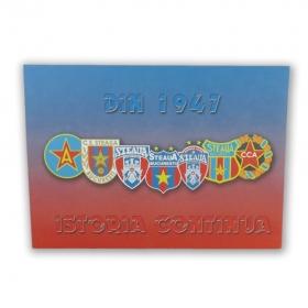 Canvas Istoria Siglei 1947 Produs Oficial Steaua Bucuresti
