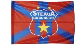 Steag Printat X Mic Produs Oficial Steaua Bucuresti