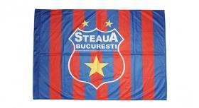 Steag Printat Dungi Mic Produs Oficial Steaua Bucuresti