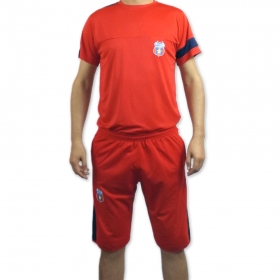 Adult Red Shirt + Bermuda Official product Steaua Bucuresti