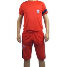 Tricou+Bermuda Rosu Adult Produs Oficial Steaua Bucuresti