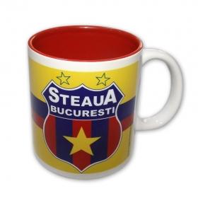 Cana 003 Interior Rosu Produs Oficial Steaua Bucuresti