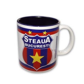 Mug 002 Blue Interior Official Product Steaua Bucuresti