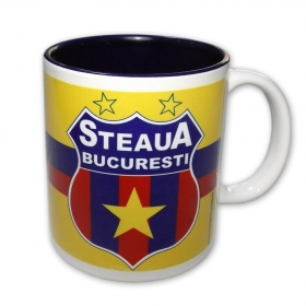 Mug 003 Blue Interior Official Product Steaua Bucuresti