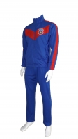Royal polyester tracksuit
