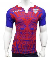Tricou Rosu Macron  C.S.A. Steaua Bucuresti Rugby