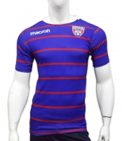 Blue Macron C.S.A. Steaua Bucuresti Rugby T-shirt