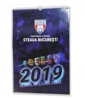 Calendar Perete 2019 C.S.A Steaua Bucuresti