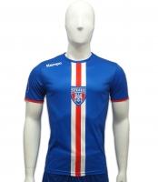 Tricou  Kempa Albastru  Handbal Steaua Bucuresti