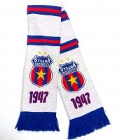 Fular Tricotat Alb 1947 Steaua Bucuresti