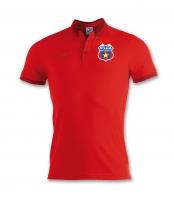 Tricou de Prezentare Polo Rosu Steaua Bucuresti  Juniori  produs oficial ''sub licenta'' Steaua Bucuresti