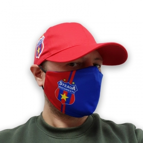 Masca Protectie Ros-Albastra Steaua Bucuresti