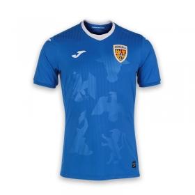 Tricou de joc albastru al Echipei Nationale de Fotbal a Romaniei