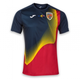 Tricou de antrenament navy al Echipei Nationale de Fotbal a Romaniei