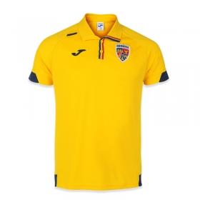 Tricou polo de prezentare galben al Echipei Nationale de Fotbal a Romaniei