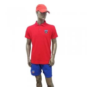 Compleu Polo Rosu Albastru Steaua Bucuresti
