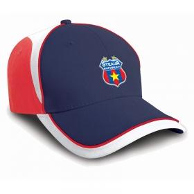 Sapca Bleumarin-Rosu-Alb Steaua Bucuresti